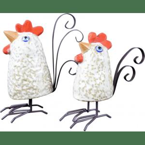 ceramic chicken