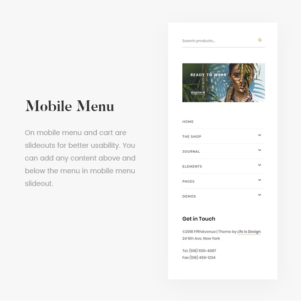 5th Avenue - WooCommerce WordPress Theme - 18