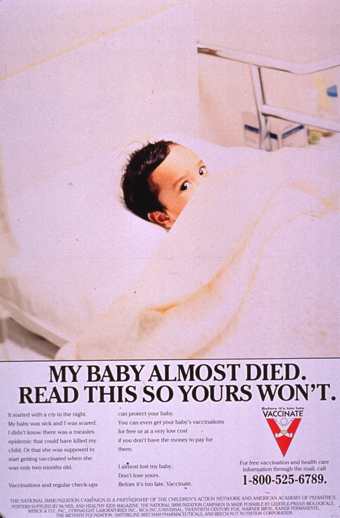 Before it's too late. Vaccinate.