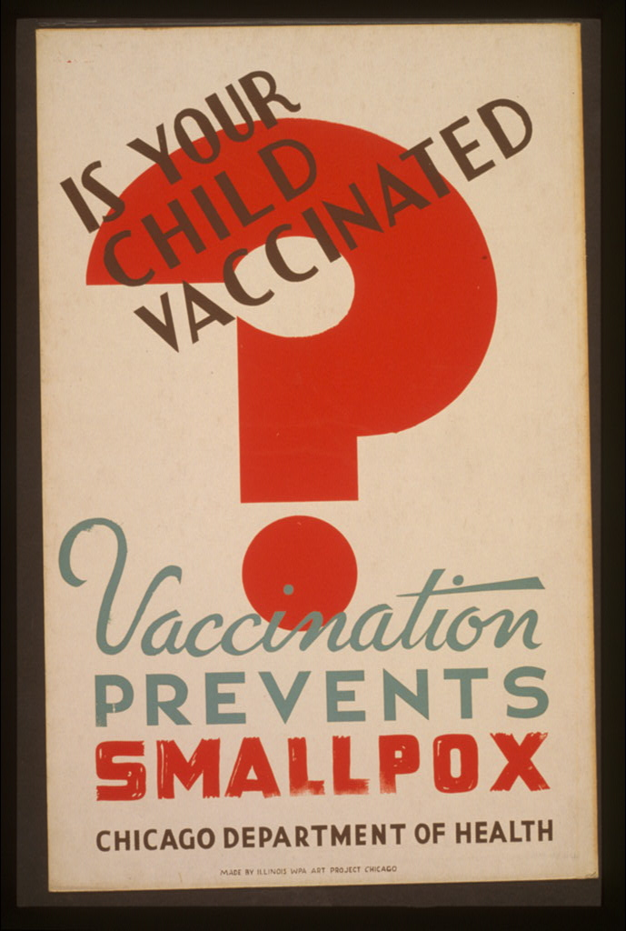 Is your child vaccinated against smallpox?