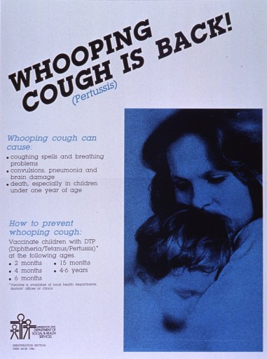Whooping Cough is back, again.