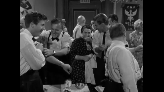 Dr. Kildare interrupts a wedding reception to get everyone vaccinated and protected against smallpox.