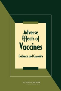 In this 2011 report, the IOM concluded that few health problems are caused by or clearly associated with vaccines.