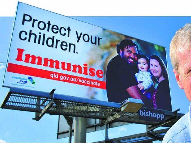 Protect your children. Immunise.