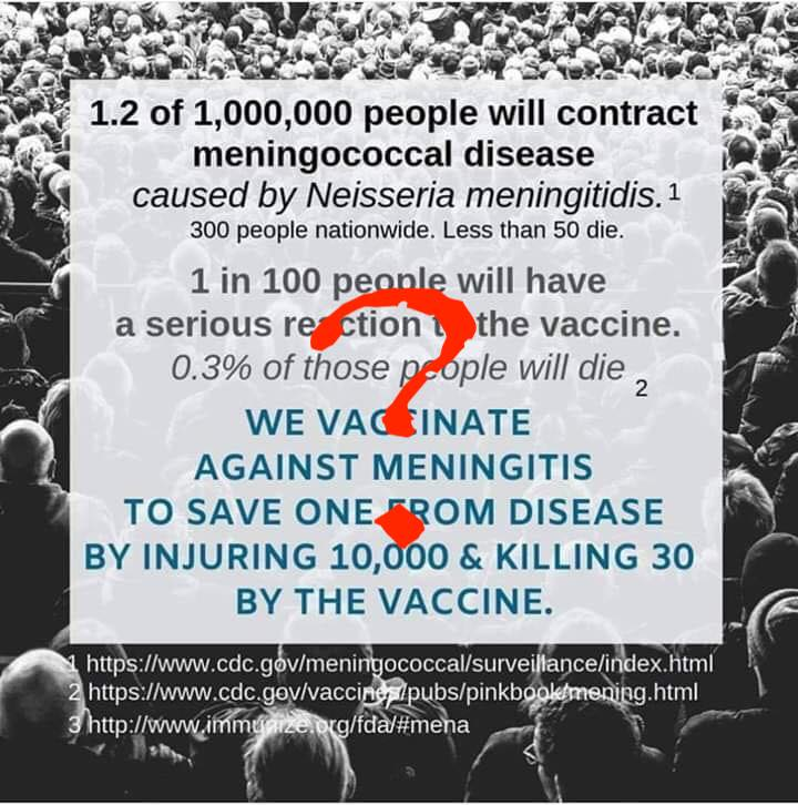 Meningococcal vaccines are safe and effective against meningococcemia and meningococcal meningitis, both terrible diseases.