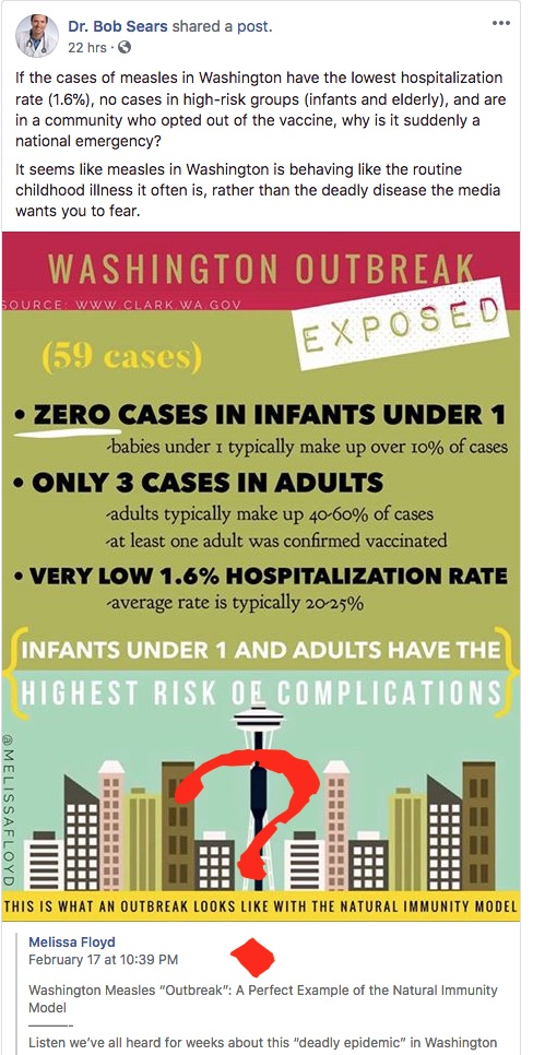 Who's calling the measles outbreaks a national emergency?