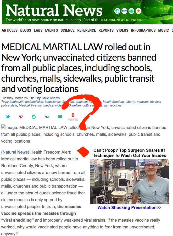 Martial law?