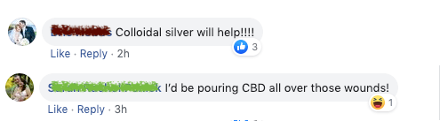 Colloidal silver or CBD oil on eczema???