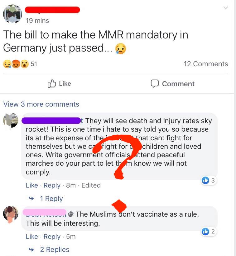 A new law that calls for mandatory measles vaccination in Germany.