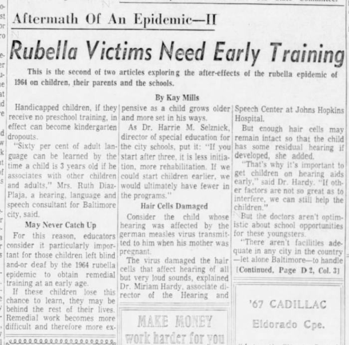If natural herd immunity really works, how do you explain congenital rubella syndrome in the pre-vaccine era and in countries that don't use the rubella vaccine?