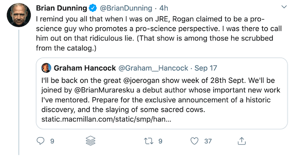 """Why haven't more experts pushed back on Joe Rogan's """"pro-science"""" perspective?"""
