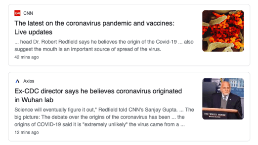 There is no evidence that the SARS-CoV-2 virus leaked or escaped from a lab.