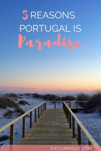 5 Reasons Portugal is Paradise. Travel tips for solo travelers / couples / family bucket list travellers. vaycarious.com