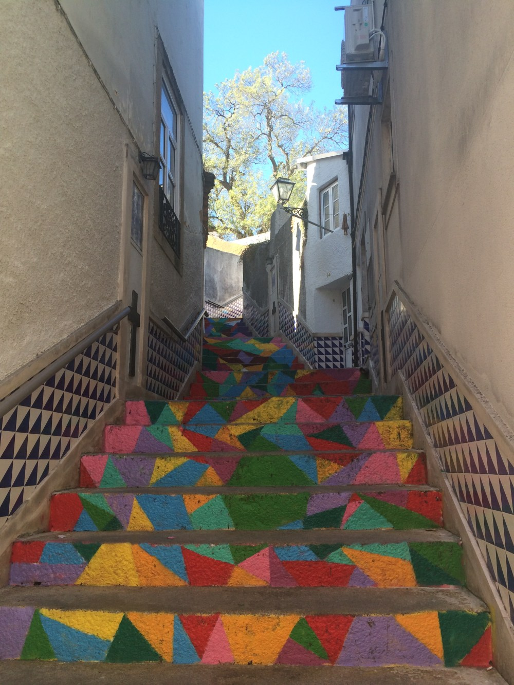 Águeda, Portugal Painted Steps