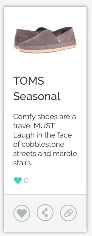 TOMS Seasonal Shoe