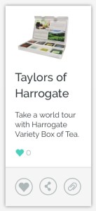 Taylors of Harrogate Tea Variety Box