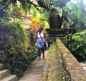 Black Solo Traveler Ubud, Bali