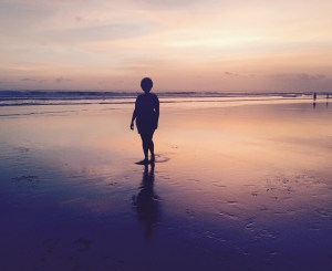 Seminyak, Bali Sunset Silhouette
