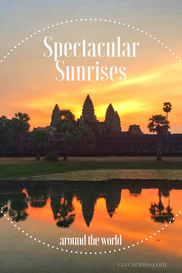 Spectacular Sunrises Around the World https://vaycarious.com/2017/01/16/sunrises Sunrise Tour World Travel