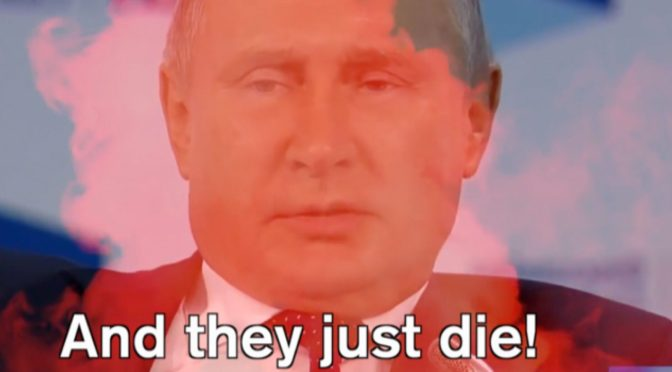 VIDEO: How Brutally Putin's Regime Disposes of Citizens