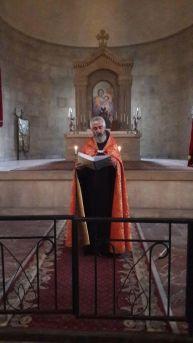 Սբ. Ծննդյան Սրբազան արարողությունները Վայքի Սբ. Տրդատ եկեղեցում