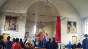 Հարության Ճրագալույցի Սբ. Պատարագ Վայոց ձորի թեմում