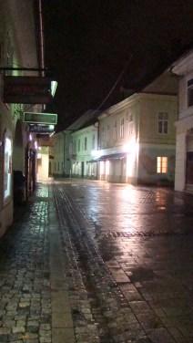 Frosty night in Maribor