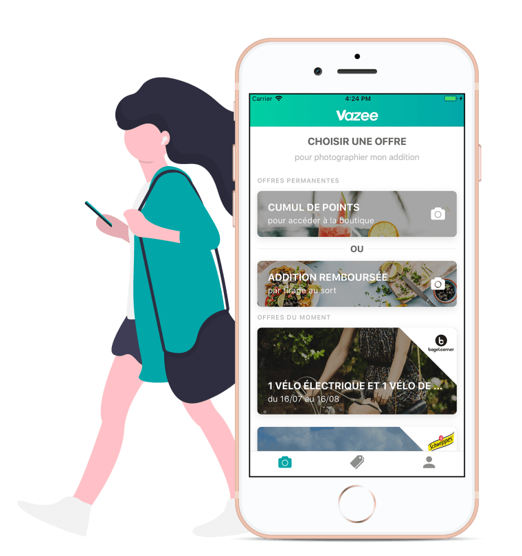 Smartphone-application-vazee-photo-addition