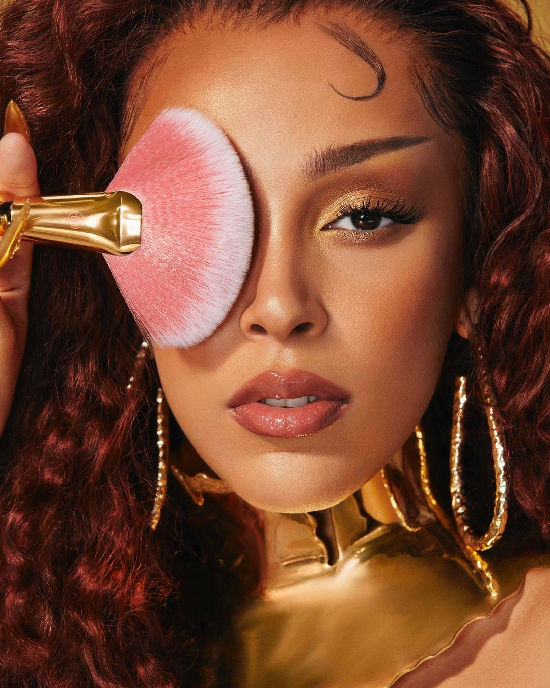 Doja Cat launches her beauty collection, Bh cosmetics.
