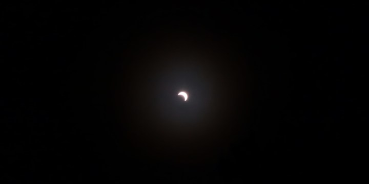 Solar eclipse in NY