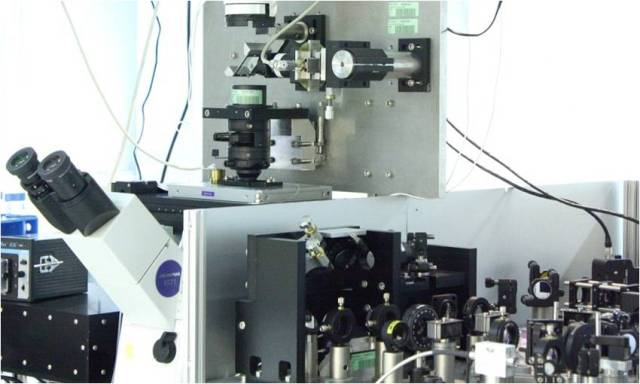 Figure 2: Our Optical Force Spectrocopy Setup