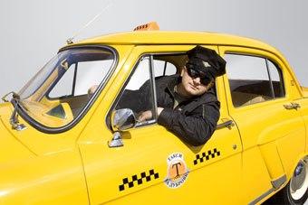 работать таксистом Фото