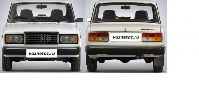 инжекторный ВАЗ 2107