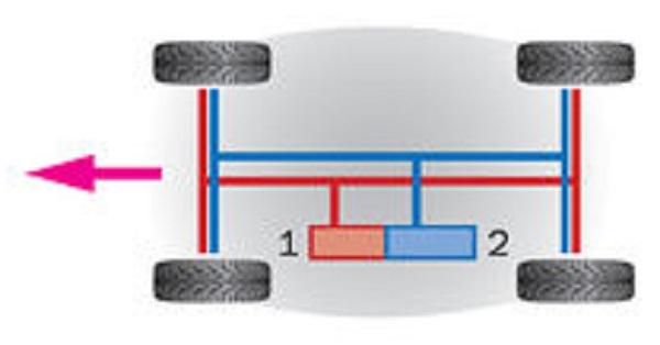Контур параллельный, схема 4+4
