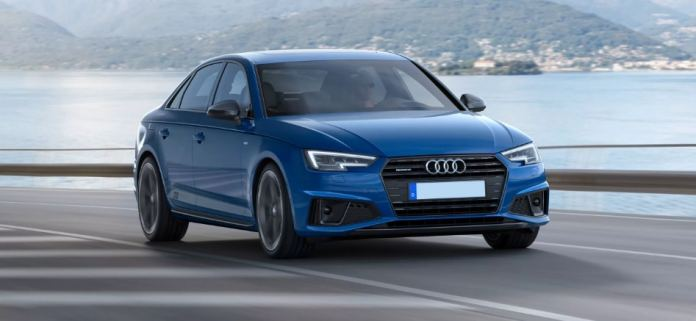 Audi A4 фото спереди
