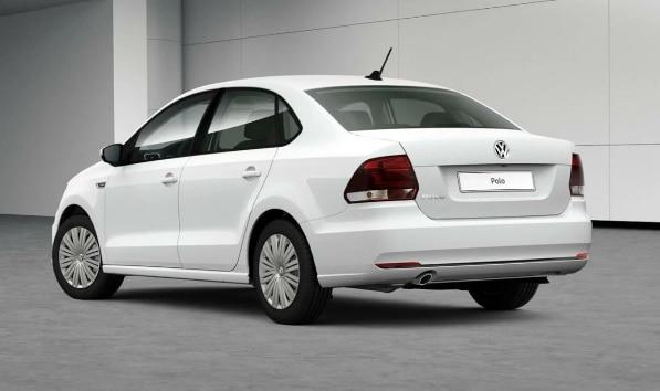 Volkswagen Polo V Рестайлинг фото сзади