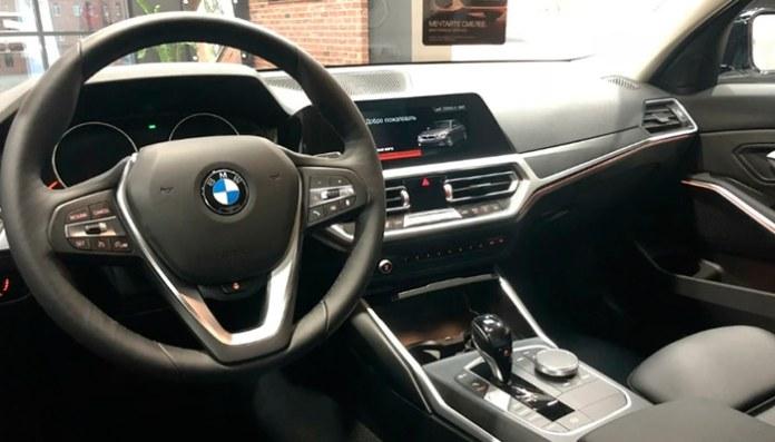 Салон BMW 3