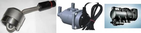 Выбор предпускового подогревателя двигателя.