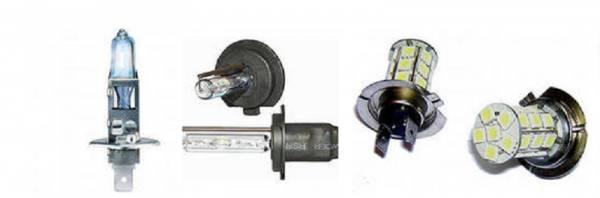 Какие автомобильные лампы выбрать: ксеноновые, светодиодные, галогеновые.