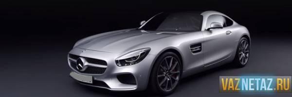 Новый спортивный автомобиль Mercedes-AMG GT.