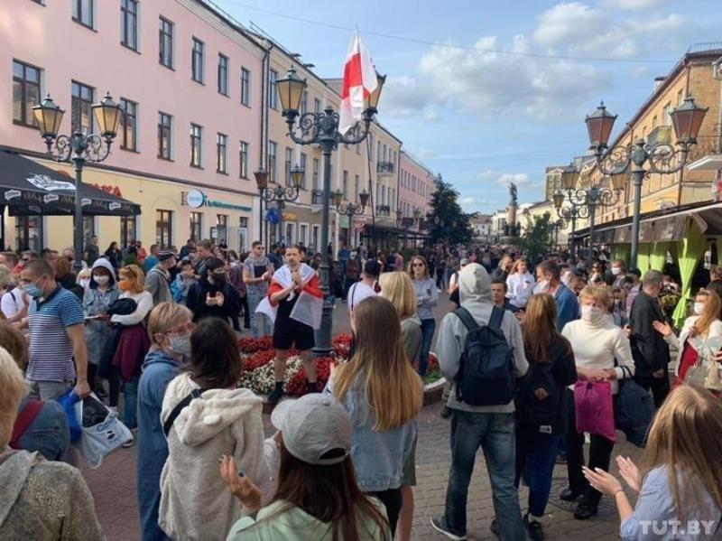 В Бресте – жесткие разгоны протестных акций