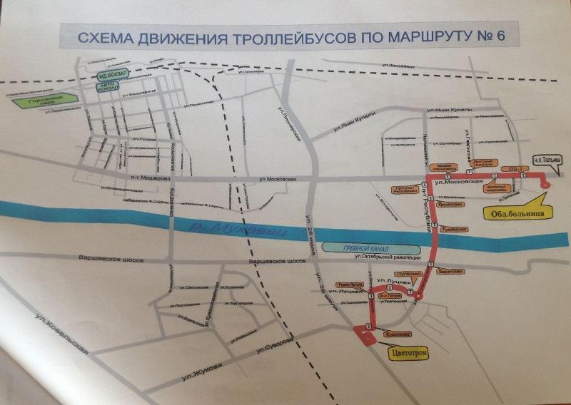 Два брестских троллейбусных маршрута могут быть скорректированы в ближайшем будущем