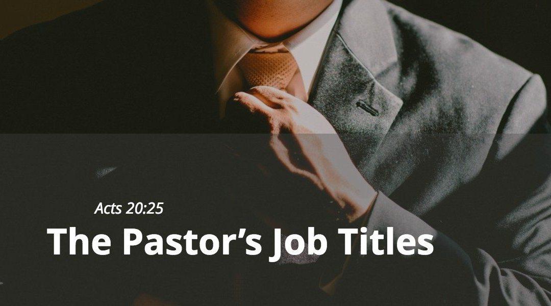 The pastors job titles victory baptist the pastors job titles altavistaventures Gallery