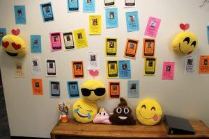 selfie wall chair kaleidoscope shelton promotes behavior proud park