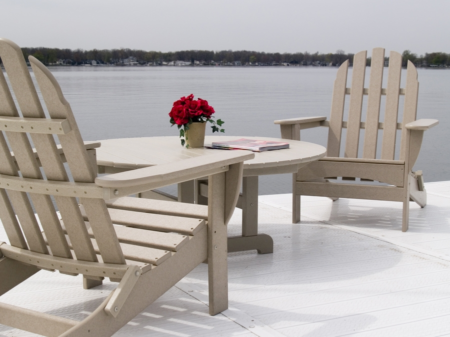 polywood classic adirondack chair nice stool vinyl by design furniture