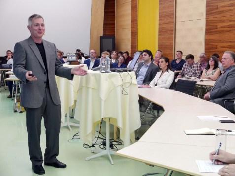 Vienna Behavioral Economics Network mit John A. List, 07.09.16. Foto: ©Nina Latritsch