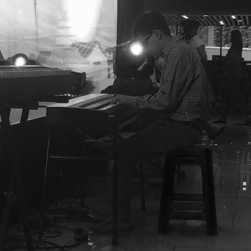 the blind pianist, Albert Cedric Tan