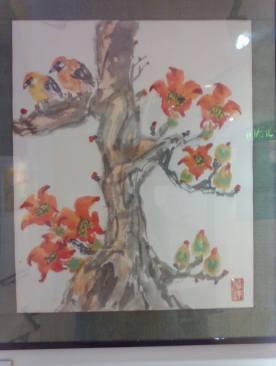 Kapok and Birds by Grace Dadufalza