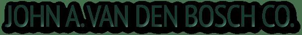 John A. Van Den Bosch Co. Logo