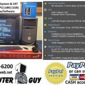 Dell Desktop System   Rebuilt and for Sale